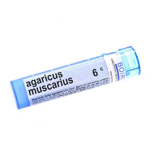 Agaricus Muscarius 6c by Boiron Homeopathics Pellets