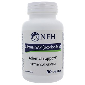 Adrenal SAP (Licorice Free) by Nutritional Fundamentals for Health 90 Capsules