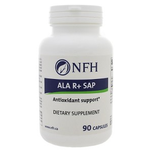 ALA R+ SAP by Nutritional Fundamentals for Health 90 Capsules