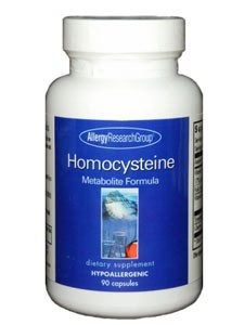 Allergy Research Group HomoCysteine Metabolism 90 caps
