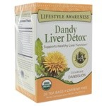 Dandy Liver Detox by Lifestyle Awareness Teas 20 Tea Bags