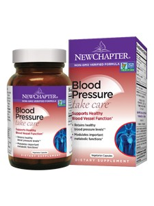 New Chapter Blood Pressure Take Care 60 vcaps