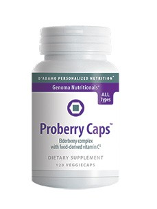 D'Adamo Personalized Nutrition Proberry Caps 120 vcaps