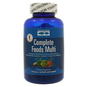 Complete Foods Multi by Trace Minerals Research 240 Tablets