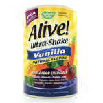 Nature's Way  Alive! Rice Pea Shake (vanilla) 2.2lbs
