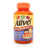 Nature's Way  Alive! Children's Multi Gummies 90chews