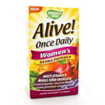 Nature's Way  Alive! Once Daily Women's Multi 60t (Ultra Potency)