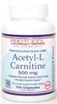 Protocol For Life BalanceAcetyl-L-Carnitine 500100c