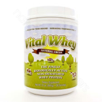 Well Wisdom Proteins Vital Whey Natural Cocoa Flavor 600g (21oz)