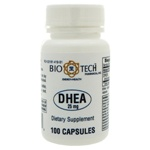 Bio-Tech Pharmacal DHEA 25mg 100 Capsules