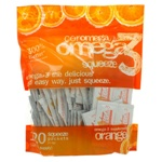 Coromega Omega-3 Squeeze Orange 120 Packets