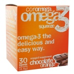 Coromega Omega-3 Squeeze Chocolate Orange 30 Packets