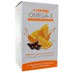 Coromega Omega-3 Squeeze Chocolate Orange 90 Packets