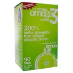 Coromega Omega-3 Squeeze Lemon Lime 90 Packets