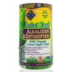 Garden of Life Perfect Food Raw-Alkalizer-Detoxifier Organic Powder 285 Grams