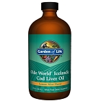 Cod Liver Oil Liquid by Garden of Life 8 Ounces