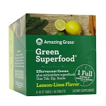 Effervescent Lemon Lime by Amazing Grass 6 Tubes