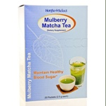TCM Zone Mulberry Matcha Tea 20 Packets