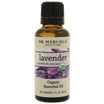 Dr. Mercola Premium Products Organic Lavender Essential Oil 1 Ounce