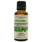 Dr. Mercola Premium Products Organic Peppermint Essential Oil 1 Ounce