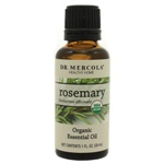 Dr. Mercola Premium Products Organic Rosemary Essential Oil 1 Ounce