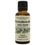 Dr. Mercola Premium Products Organic Tea Tree Essential Oil 1 Ounce