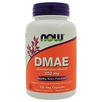 DMAE 250mg by NOW Foods 100 Capsules