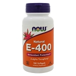 E-400 Softgels by NOW Foods 100 Softgels