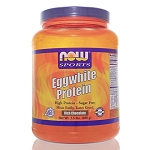 Eggwhite Protein Chocolate by NOW Sports 1.5 Pounds