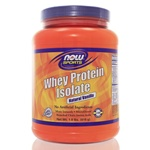 NOW Sports Whey Protein Isolate Vanilla 1.8 Pounds