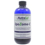 Nutrasal LipoZome C: Liposomal Vitamin C with B12 8oz 8 Ounces