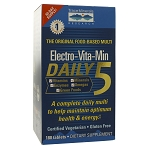Electro-Vita-Min Daily 5 by Trace Minerals Research 180 Tablets