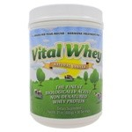 Well Wisdom Proteins Vital Whey Natural Vanilla Flavor 600g (21oz)