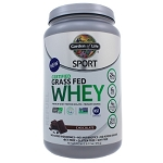 SPORT Grass Fed Whey Protein - Chocolate by Garden of Life 672 Grams
