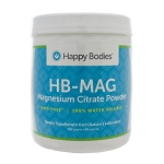 MAG Magnesium Citrate by Happy Bodies 452 Grams