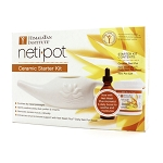 Himalayan Institute  Neti Pot Starter Kit/Ceramic