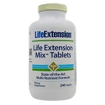 Life Extension Mix Tablets by Life Extension 240 Tablets