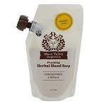 Orange Spice Herbal Hand Soap by Moon Valley Organics 10.7oz Refill