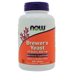 Brewers Yeast 650mg by NOW Foods 200 Tablets