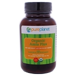 Amla Plus Organic Tablets by Pure Planet 100 Tablets