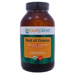 Best of Greens Organic - Unflavored by Pure Planet 150 Grams