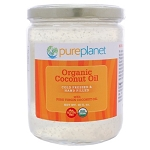 Coconut Oil Organic by Pure Planet 16 Ounces