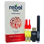 #46 Energy+ Vapor Refill Cartridge by Rebel Herbs 1 Cartridge