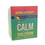 Calm Plus Calcium Raspberry/Lemon by Natural Vitality 30 Packets