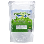 Well Wisdom Proteins Vital Whey Natural 2.5lb bag