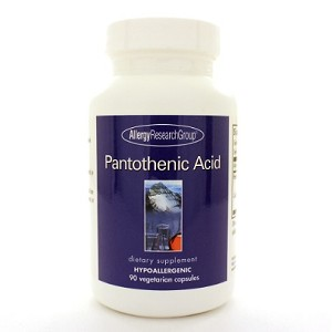 Allergy Research Group Pantothenic Acid 90c