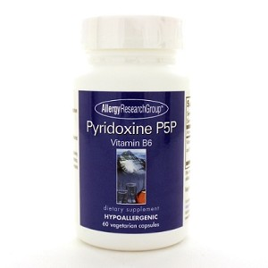 Allergy Research Group Pyridoxine P5P (B-6) 60c