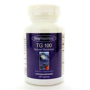 Allergy Research Group TG 100 Organic Glandulars 100c